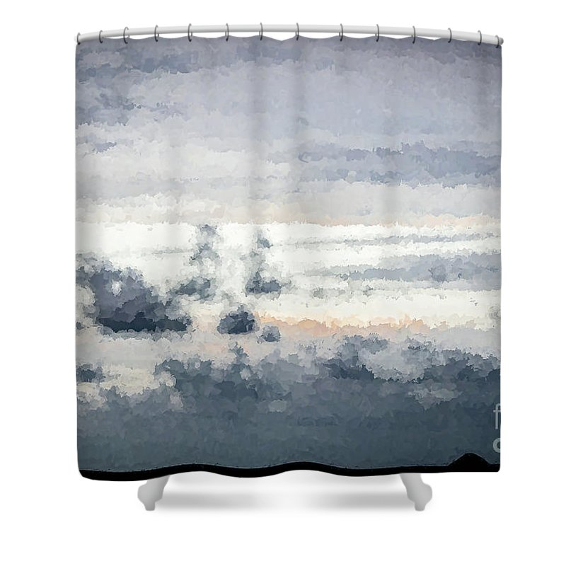 St Thomas Shower Curtain featuring the photograph St Thomas - Sunset Over A Small Island by Stefan H Unger