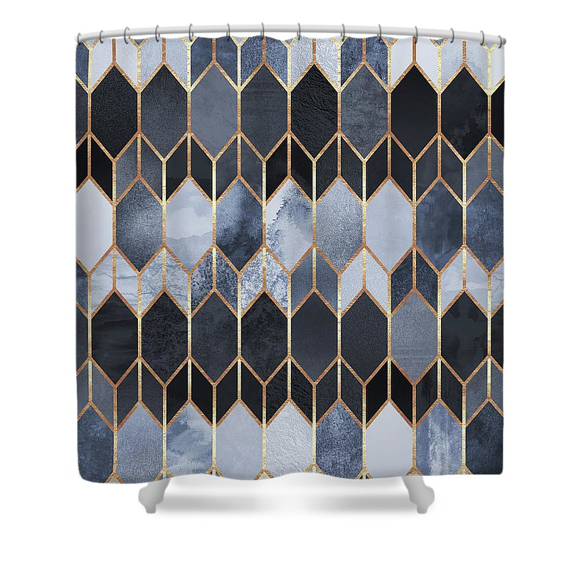 Stained Glass Shower Curtains