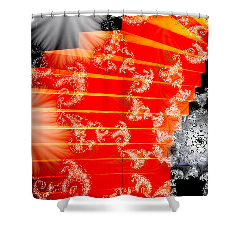 Clay Shower Curtain featuring the photograph Stairway To Heaven by Clayton Bruster