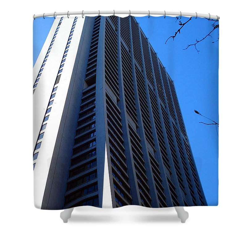 Chicago Shower Curtain featuring the photograph Standing Tall Chicago by DB Artist