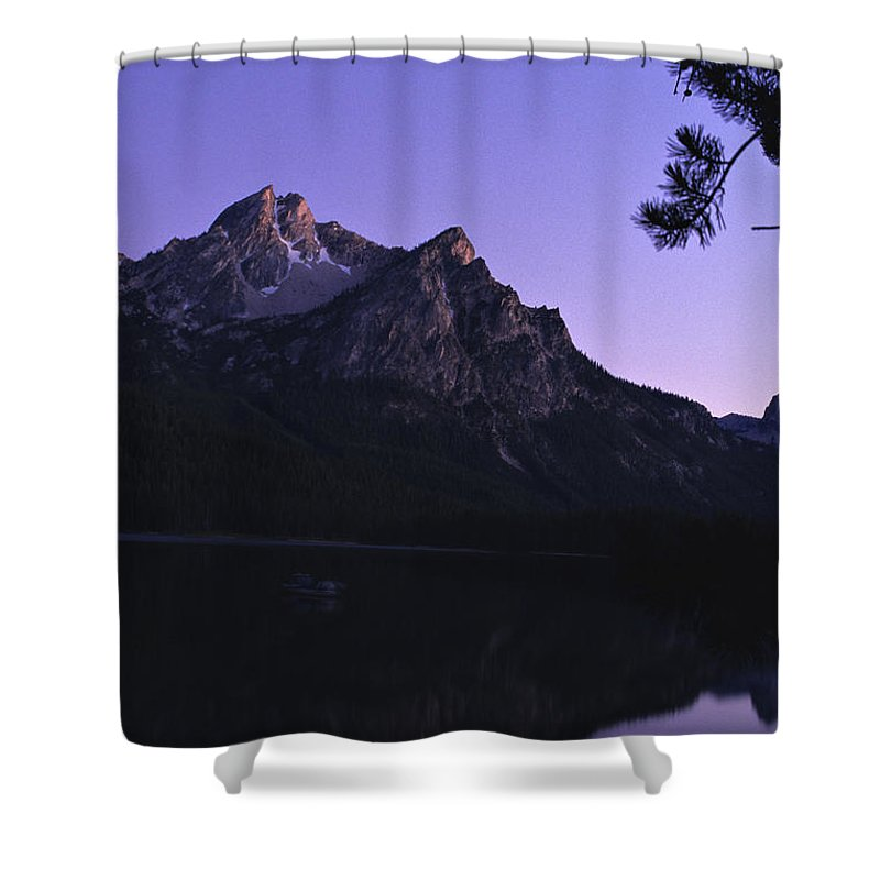 Stanley Lake Shower Curtain featuring the photograph Stanley Lake, Id by Dawn Kish
