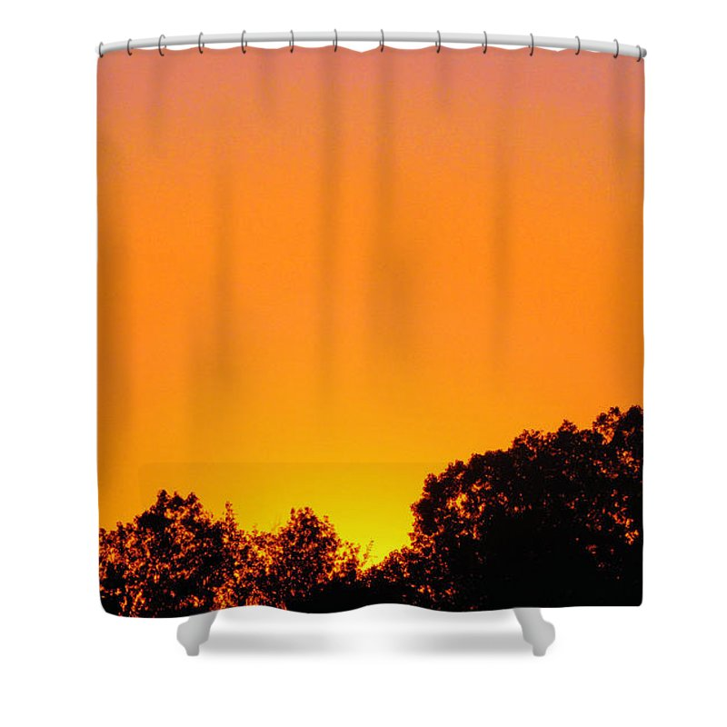 Sunrises Shower Curtain featuring the photograph Star Burst by September Stone