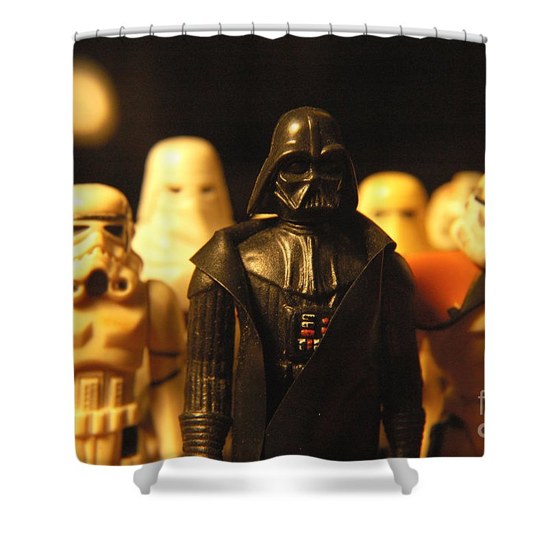 Star Wars Shower Curtain featuring the photograph Star Wars Gang 3 by Micah May