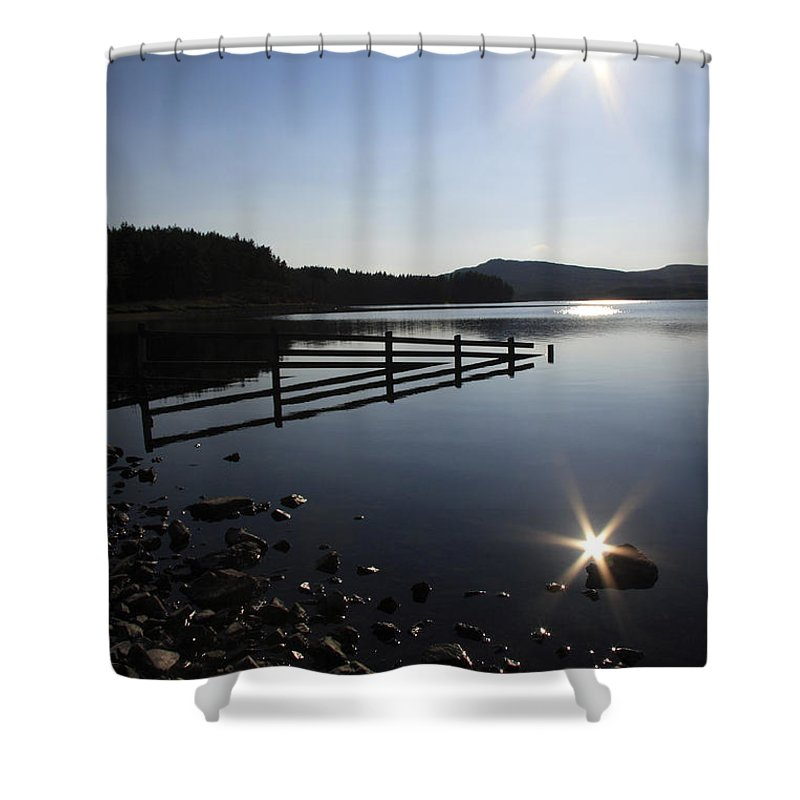Sun Shower Curtain featuring the photograph Starburst by Phil Crean