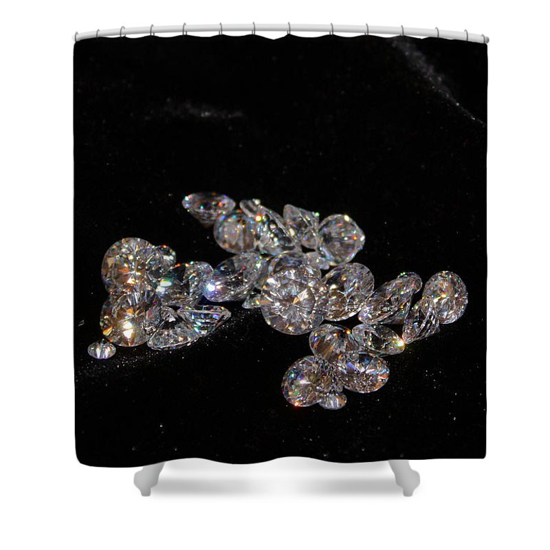 Diamonds Shower Curtain featuring the photograph Stardust by Kristin Elmquist