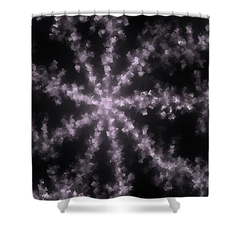 Abstract Shower Curtain featuring the photograph Starfish by Jeff Swan