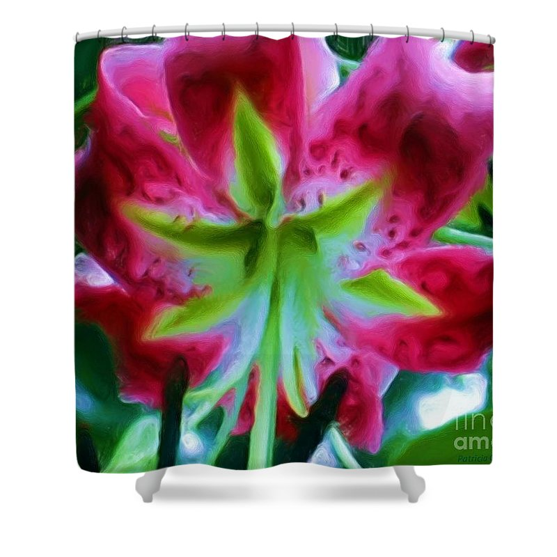 Fine Art Photography Shower Curtain featuring the photograph Stargazer by Patricia Griffin Brett