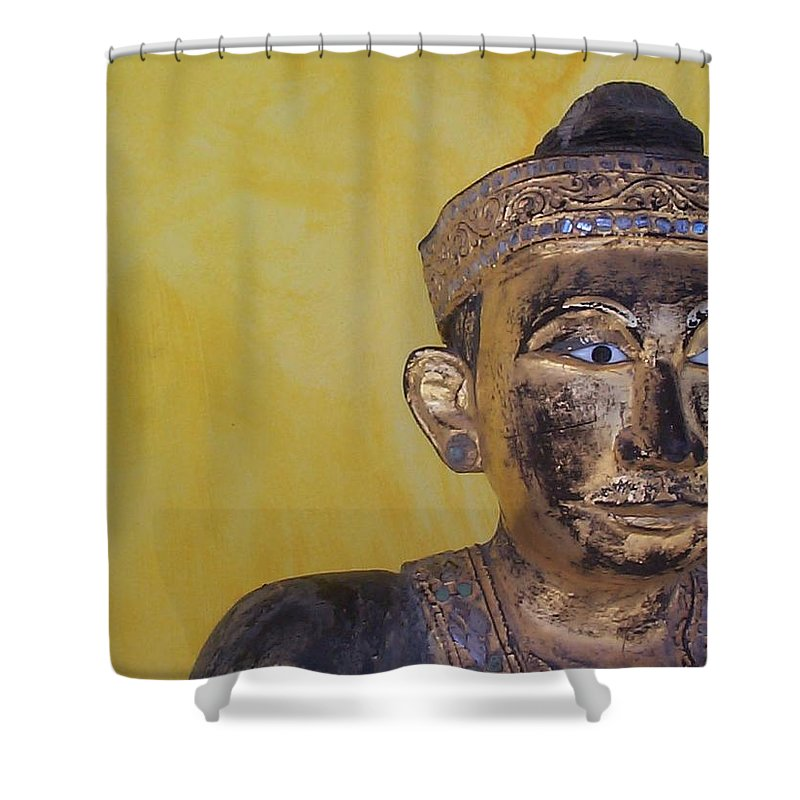 Charity Shower Curtain featuring the photograph Statue by Mary-Lee Sanders