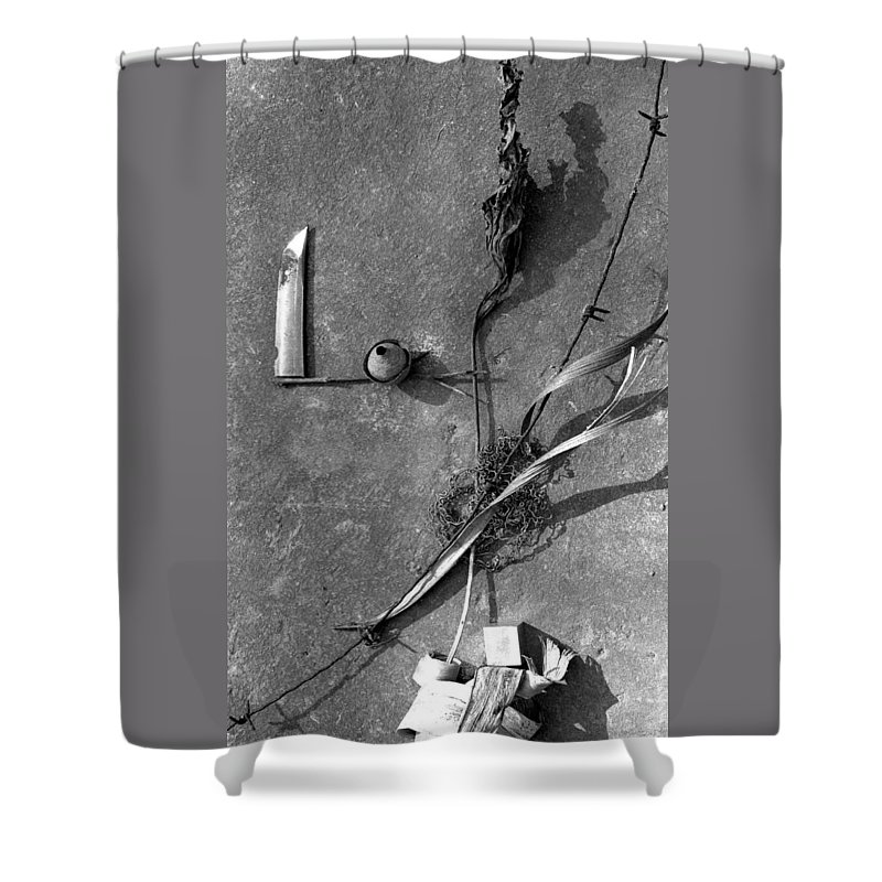 Still Life Shower Curtain featuring the photograph Still Forms by Ted M Tubbs