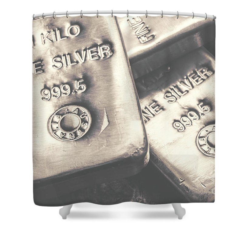 Bars Shower Curtain featuring the photograph Store Of Wealth by Jorgo Photography - Wall Art Gallery