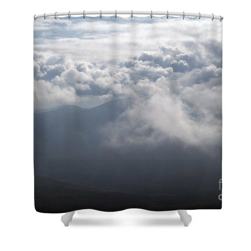 Storm Shower Curtain featuring the photograph Storm Clouds - White Mountains New Hampshire by Erin Paul Donovan
