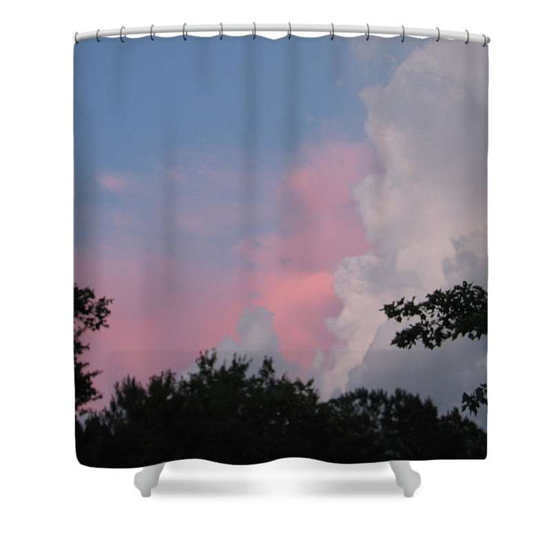 Storm Shower Curtain featuring the photograph Storm Rolling In by Kelly Mezzapelle
