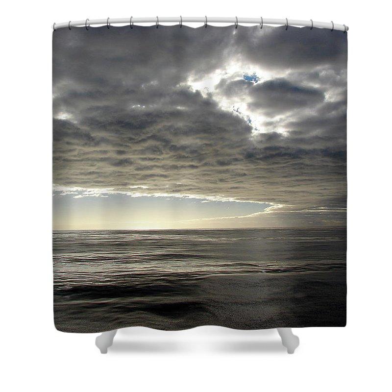 Straits Of Magellan Shower Curtain featuring the photograph Straits Of Magellan I by Brett Winn