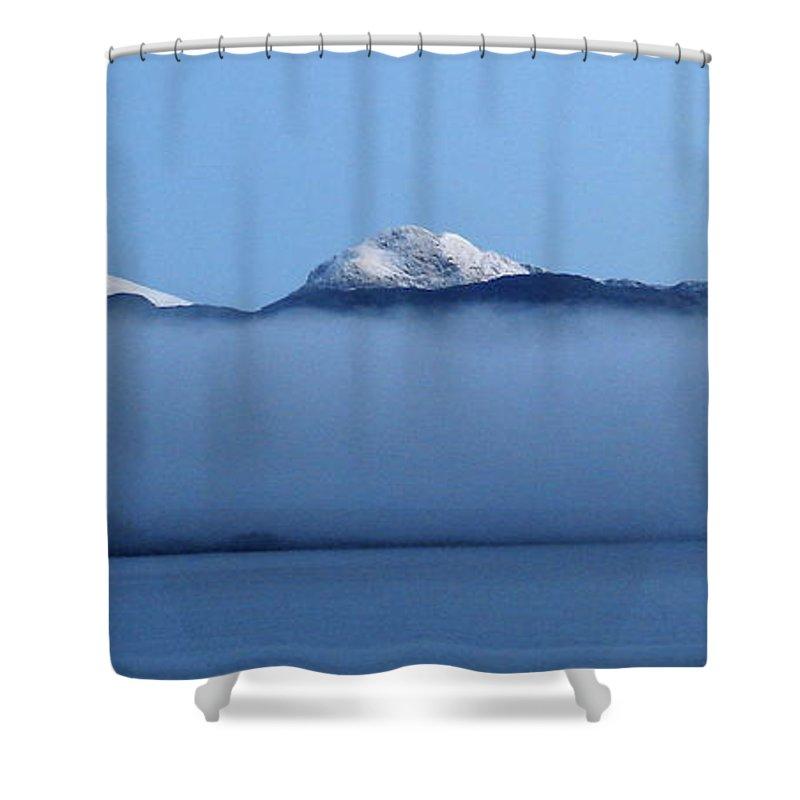 Straits Of Magellan Shower Curtain featuring the photograph Straits Of Magellan V by Brett Winn