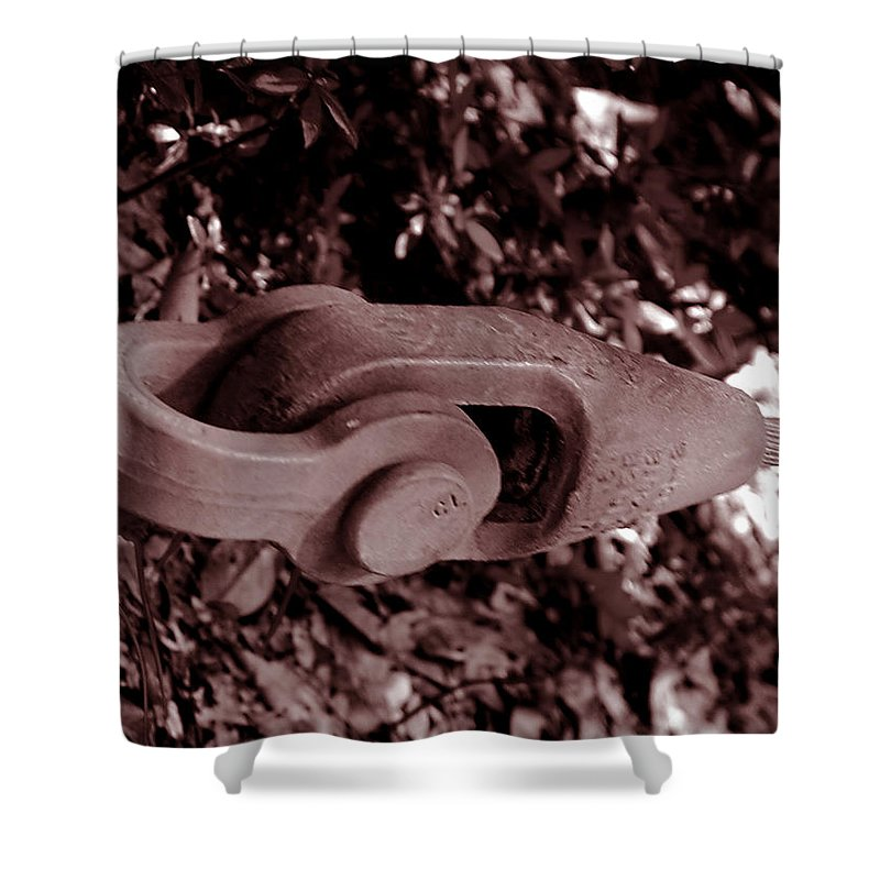 Tool Shower Curtain featuring the photograph Strength by Bob Johnson