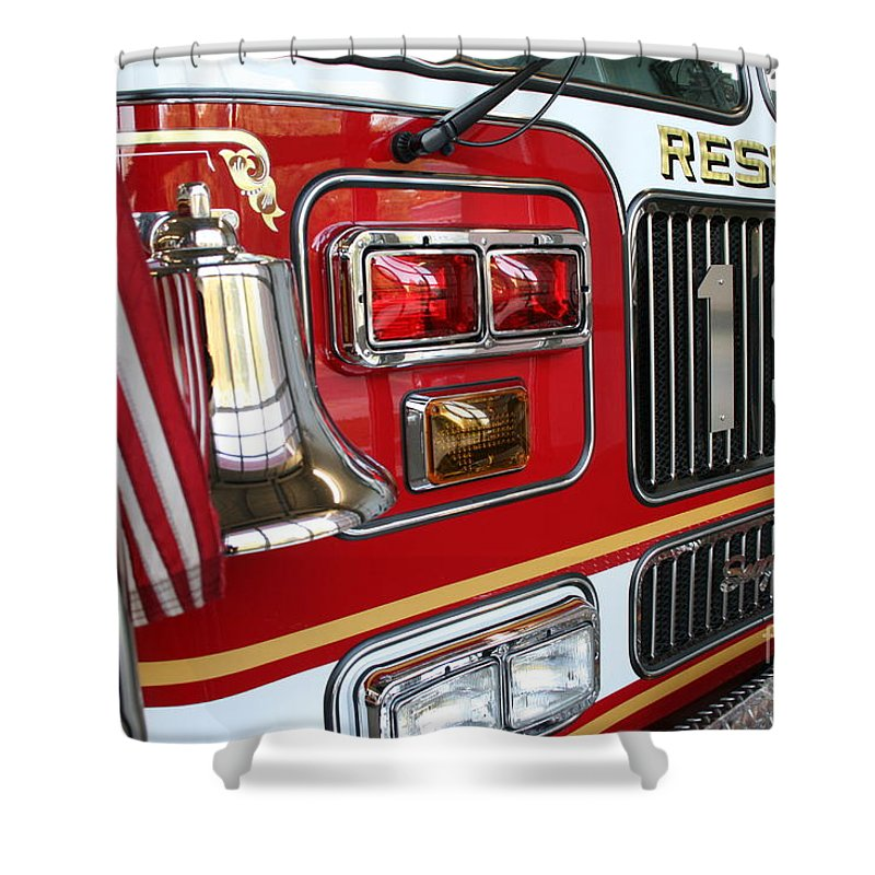 Rescue Shower Curtain featuring the photograph Strength by Rick Monyahan