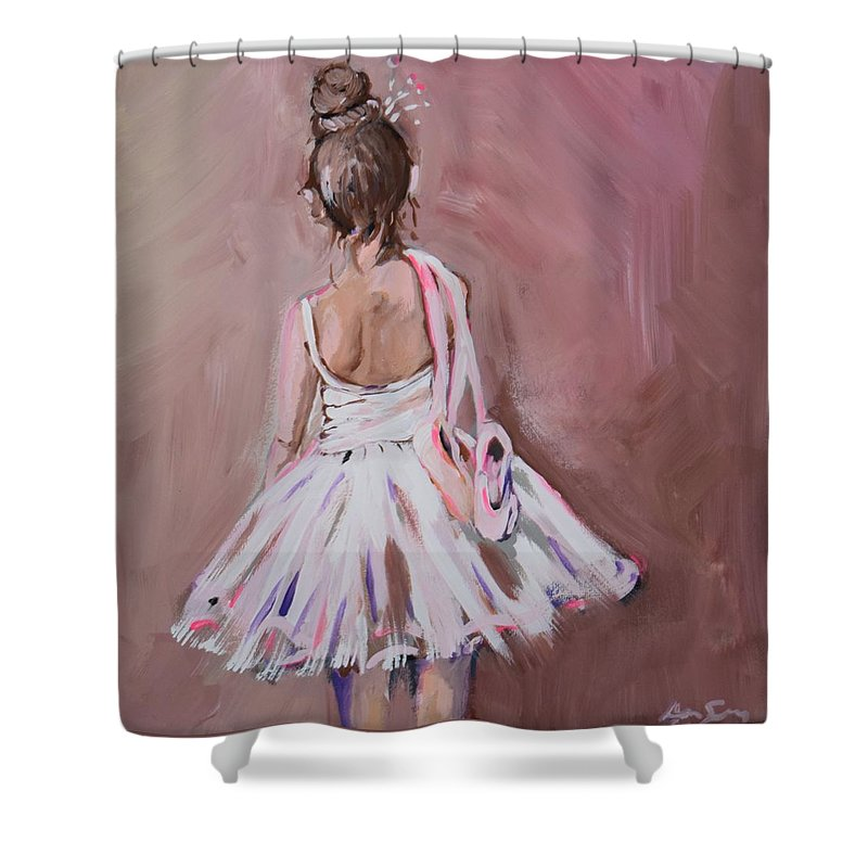 Dancer Ballerina Girl Baby Little Poof Ballet Nursery Sugar And Spice Hair Pink Dance Purple