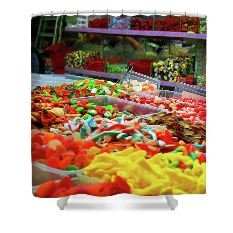 Israel Shower Curtain featuring the photograph Sugar Rush by JLS By Design