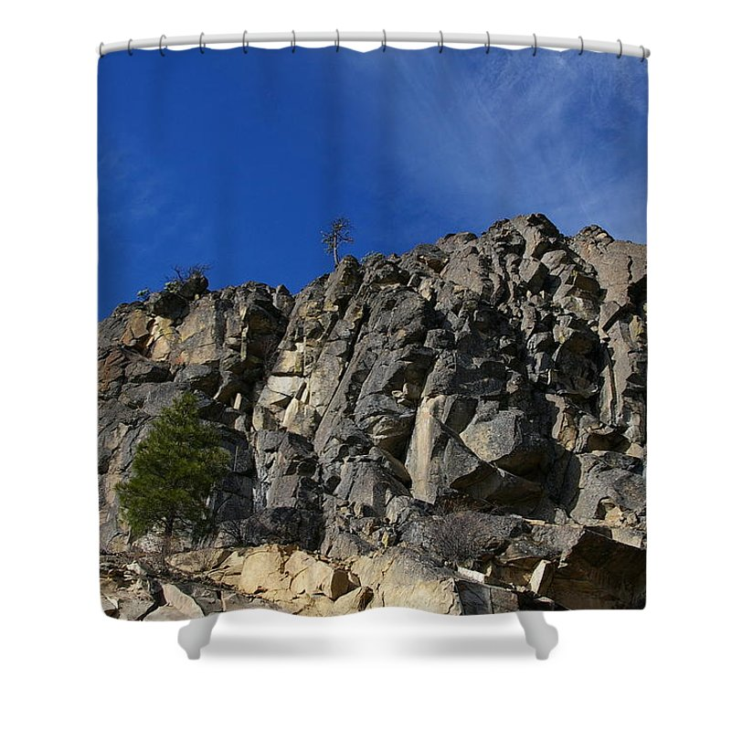 Views Shower Curtain featuring the photograph Sugarloaf by Jeff Swan