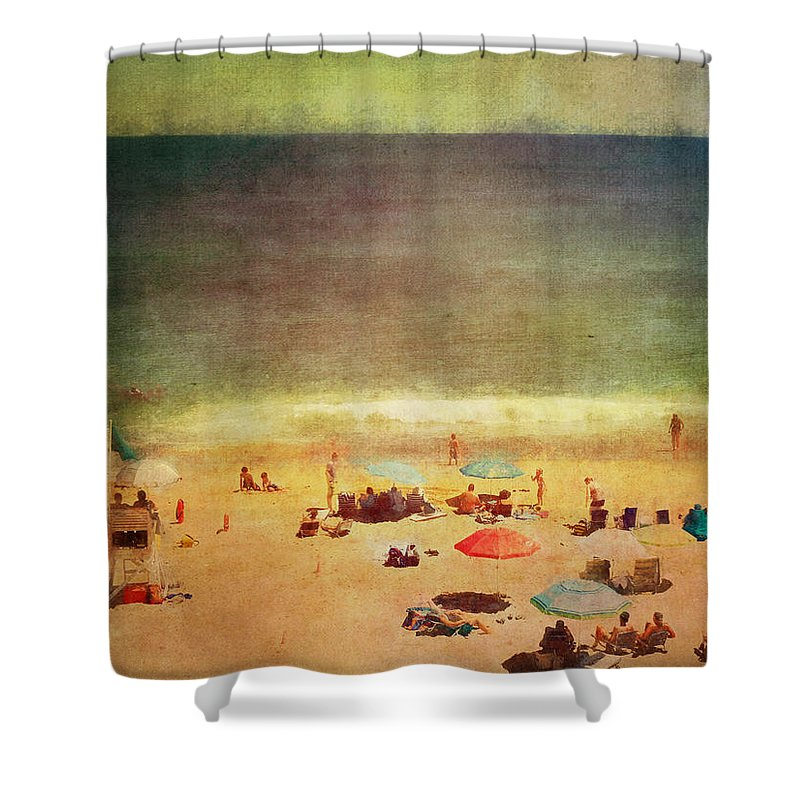 Beautiful Shower Curtain featuring the photograph Summer At The Cape Iv by Tina Baxter