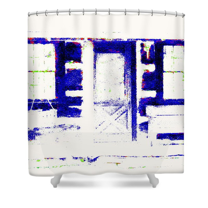 Summer Cottage Shower Curtain featuring the photograph Summer Cottage by Ed Smith