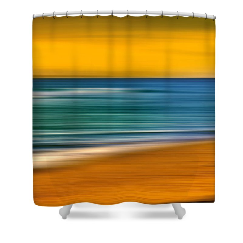Landscape Shower Curtain featuring the photograph Summer Days by Az Jackson