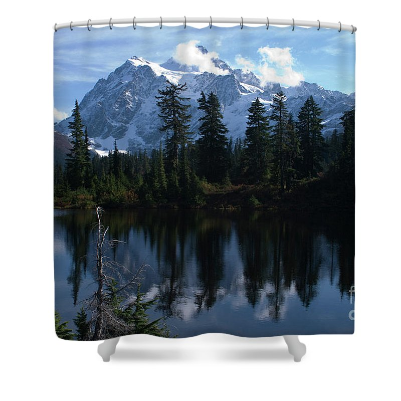 Mountain Shower Curtain featuring the photograph Summer Dreams by Rod Wiens