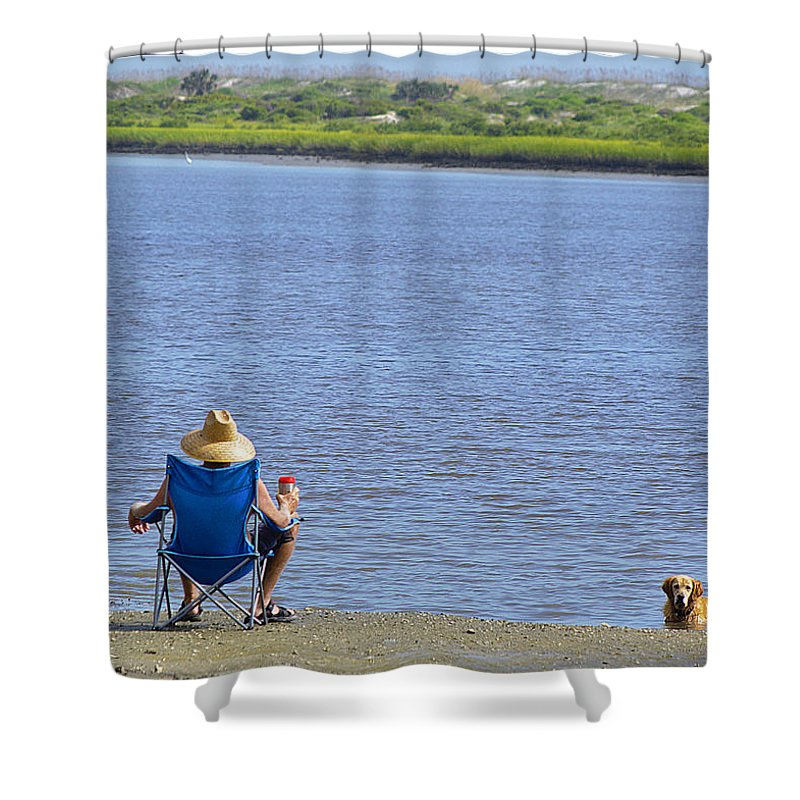 Florida Shower Curtain featuring the photograph Summer Florida Dreaming by Kenneth Albin