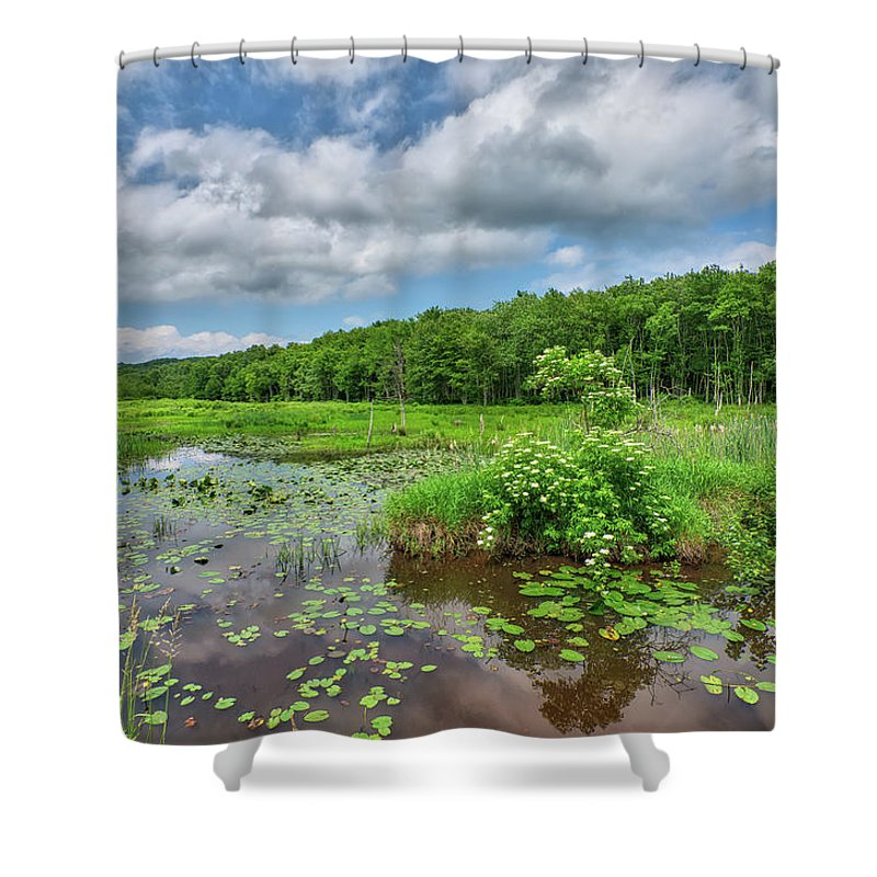 Sunday Shower Curtain featuring the photograph Sunday Drive by Steve Schaum