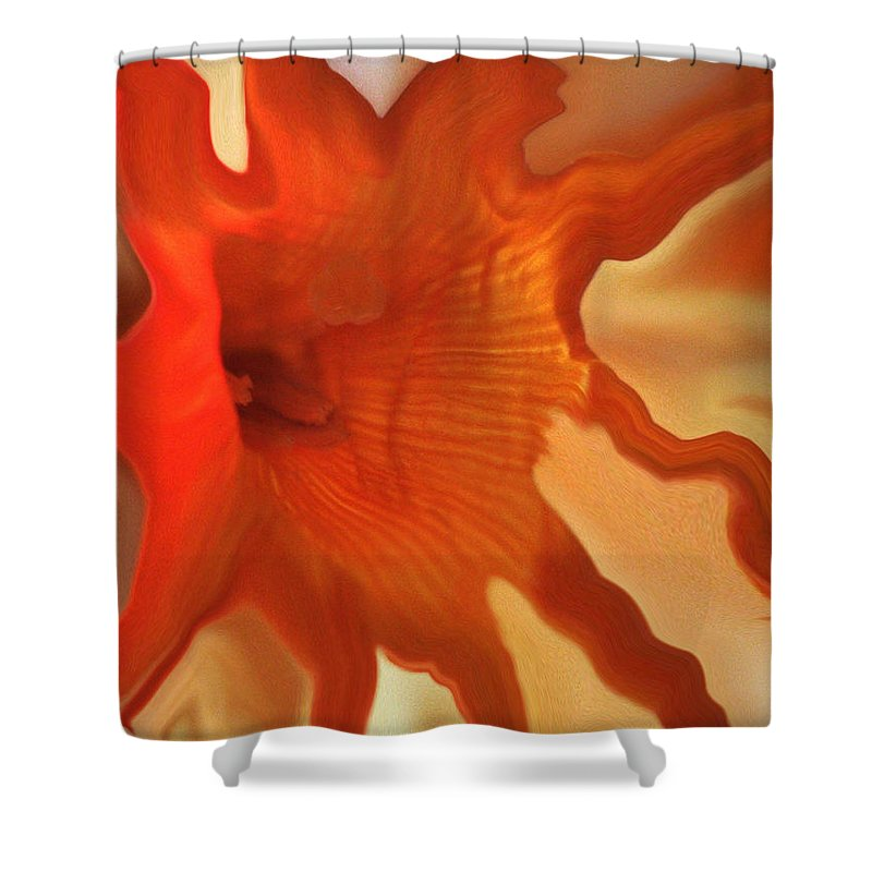 Flowers Shower Curtain featuring the photograph Sunny Days... by Arthur Miller