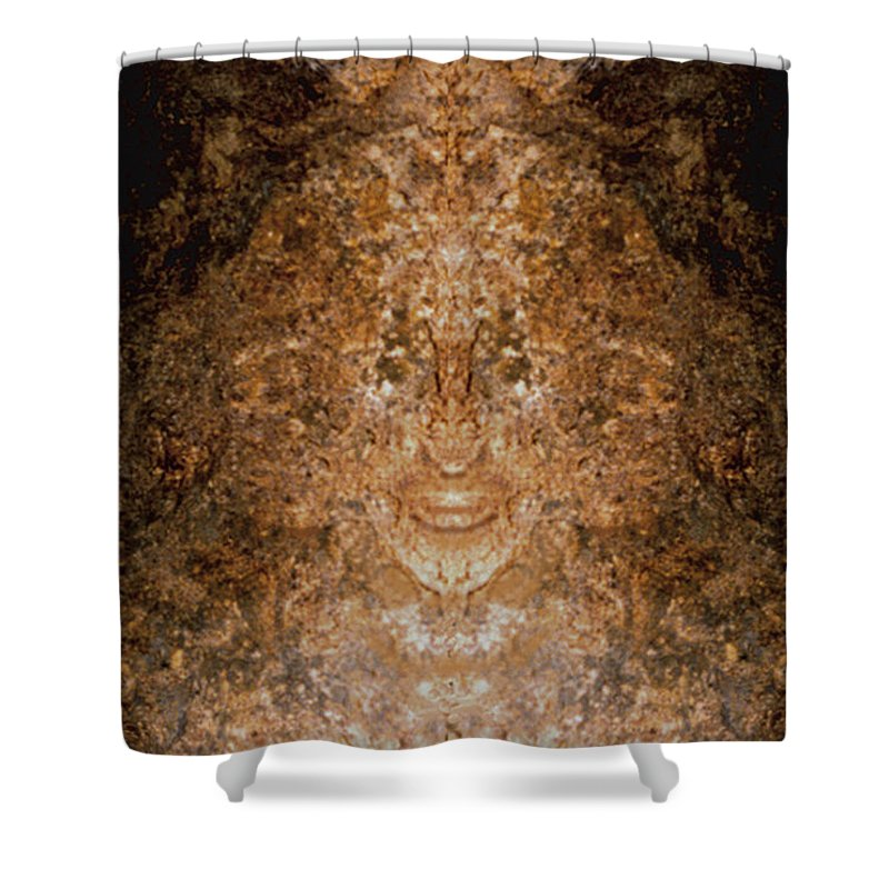 Rocks Shower Curtain featuring the photograph Sunqueen Of Woodstock by Nancy Griswold