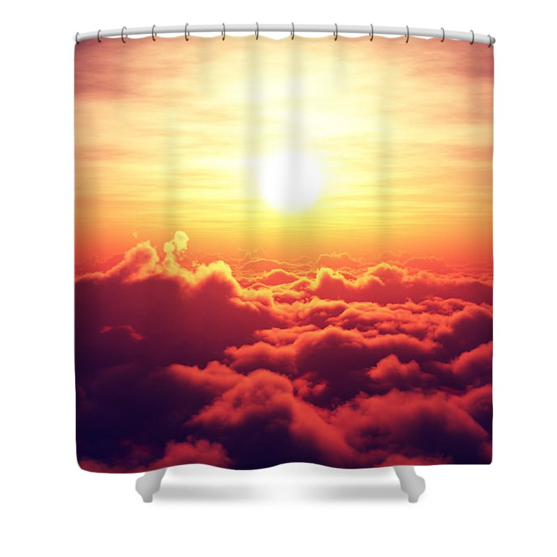 Aerial View Shower Curtains