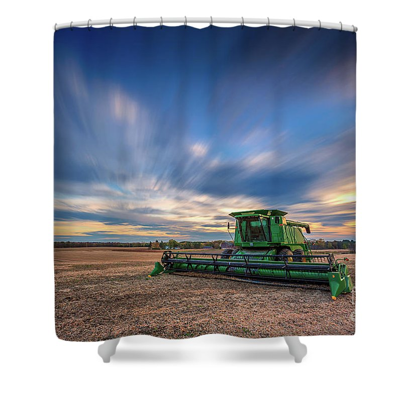 Andrew Slater Photography Shower Curtain featuring the photograph Sunrise Combined by Andrew Slater