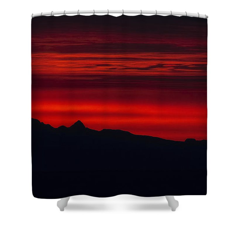 Sunrise Shower Curtain featuring the photograph Sunrise Cruise by Randy Hall
