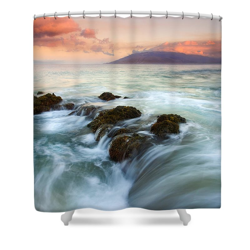 Sunrise Shower Curtain featuring the photograph Sunrise Drain by Mike Dawson