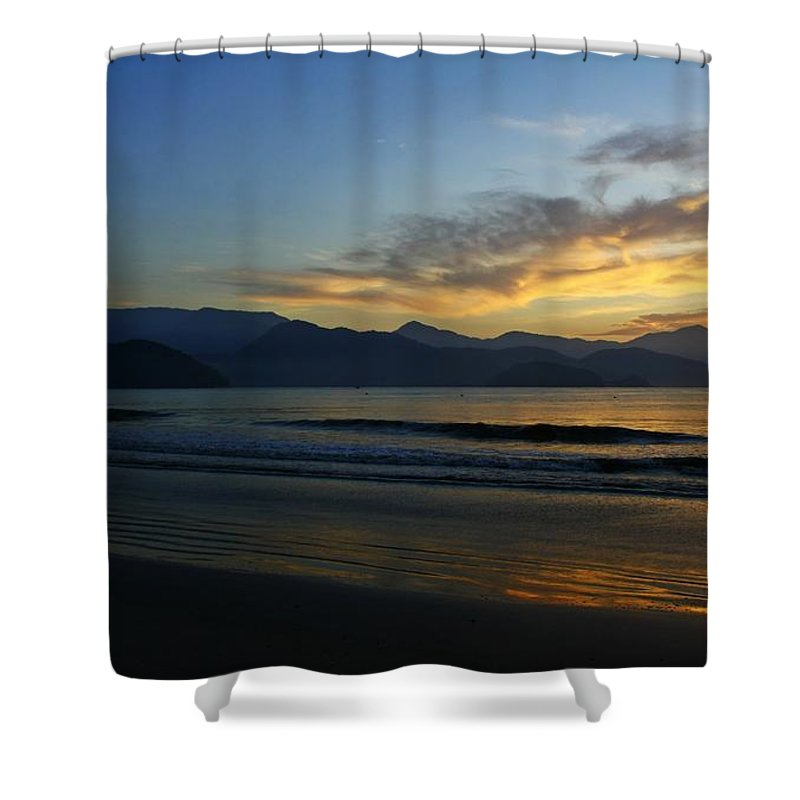 Sunrise Shower Curtain featuring the photograph Sunrise by Elaine Muscat