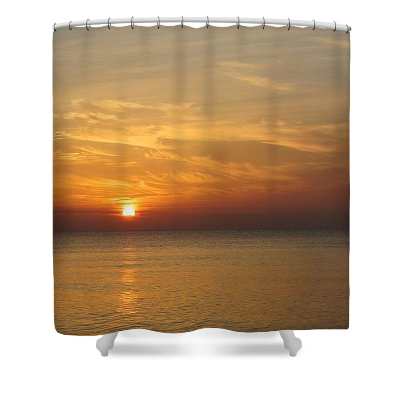 Sunrise Shower Curtain featuring the photograph Sunrise by Kyle Llinas