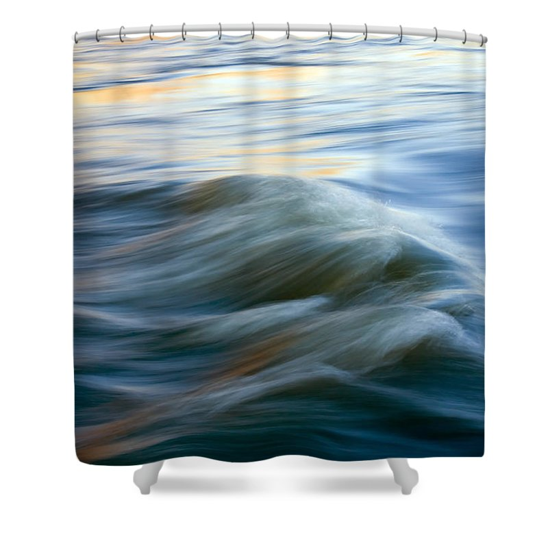 Yakima River Photographs Shower Curtains