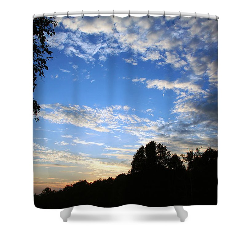 Door County Shower Curtain featuring the photograph Sunrise Sunset by Joanne Coyle