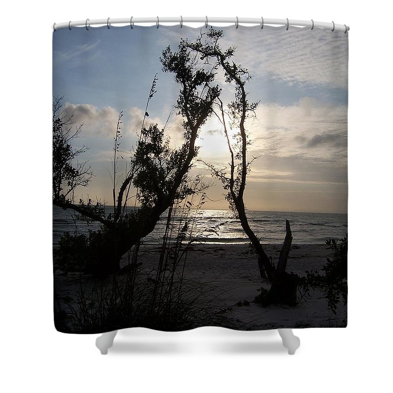 Sunset Shower Curtain featuring the photograph Sunset 0027 by Laurie Paci