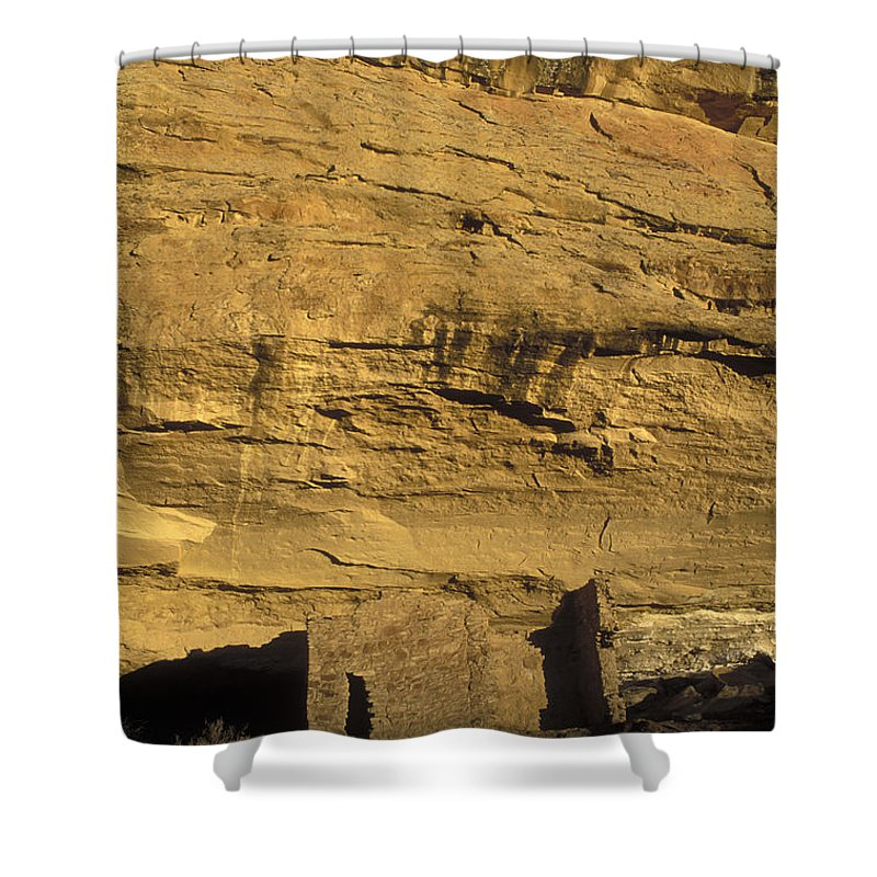 Sunsets Shower Curtain featuring the photograph Sunset At Gallo Cliff Shelter by Rich Reid