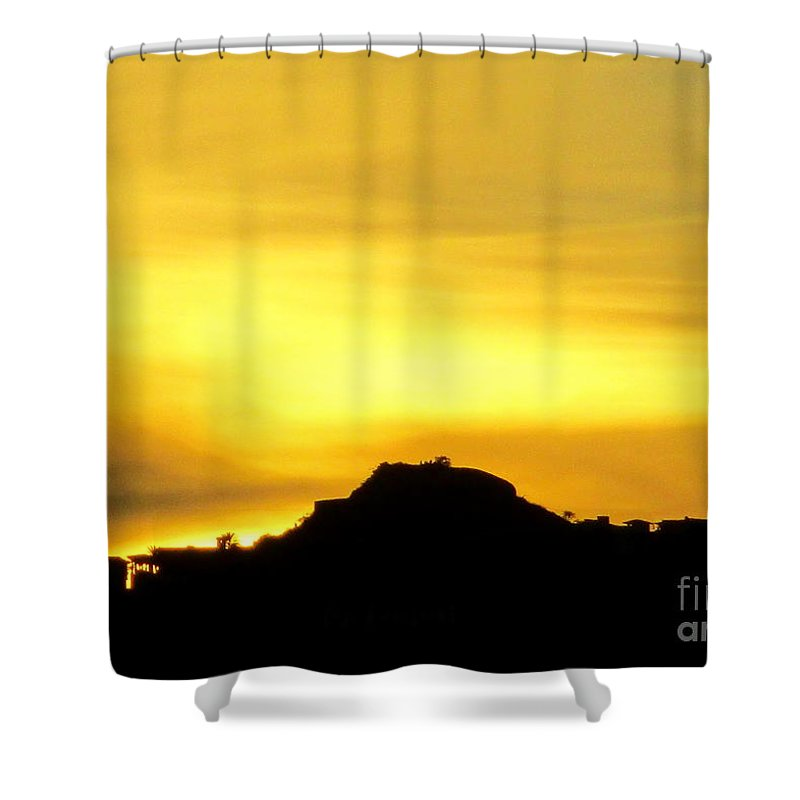 Sunrise Shower Curtain featuring the photograph Sunset Cabo 2 by Randall Weidner