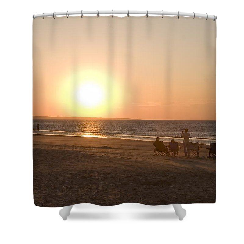 Prince Edward Island Shower Curtain featuring the photograph Sunset In Summertime On Beaches by Taylor S. Kennedy