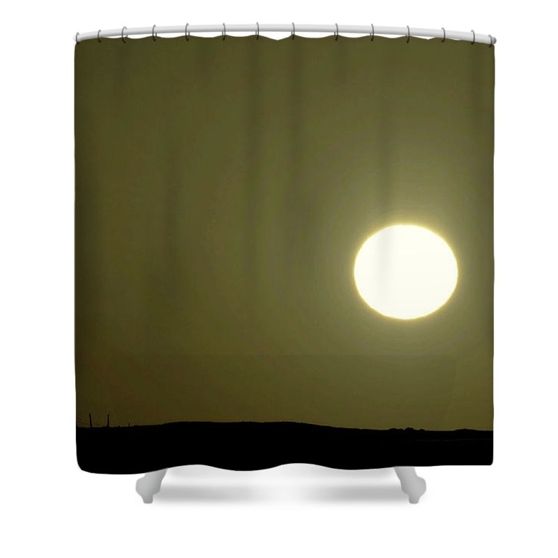 Sunset Shower Curtain featuring the photograph Sunset On Over Leaventworth by Jeff Swan