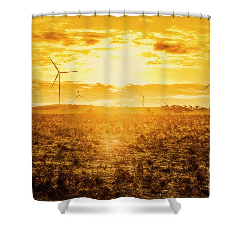 Sustainable Development Shower Curtains