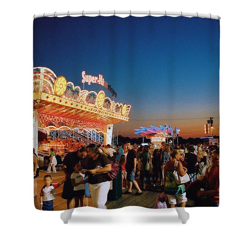 Board Walk Shower Curtain featuring the photograph Super Himalaya by Steve Karol