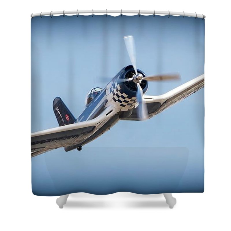 Aircraft Shower Curtain featuring the photograph Super Wings For Bob by Gus McCrea