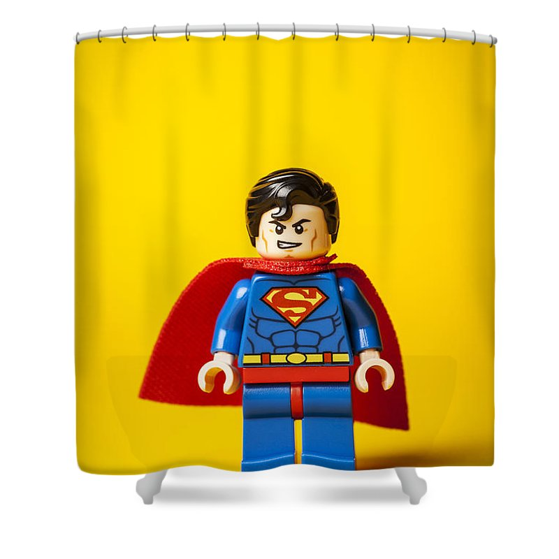 Superman Shower Curtain Featuring The Photograph