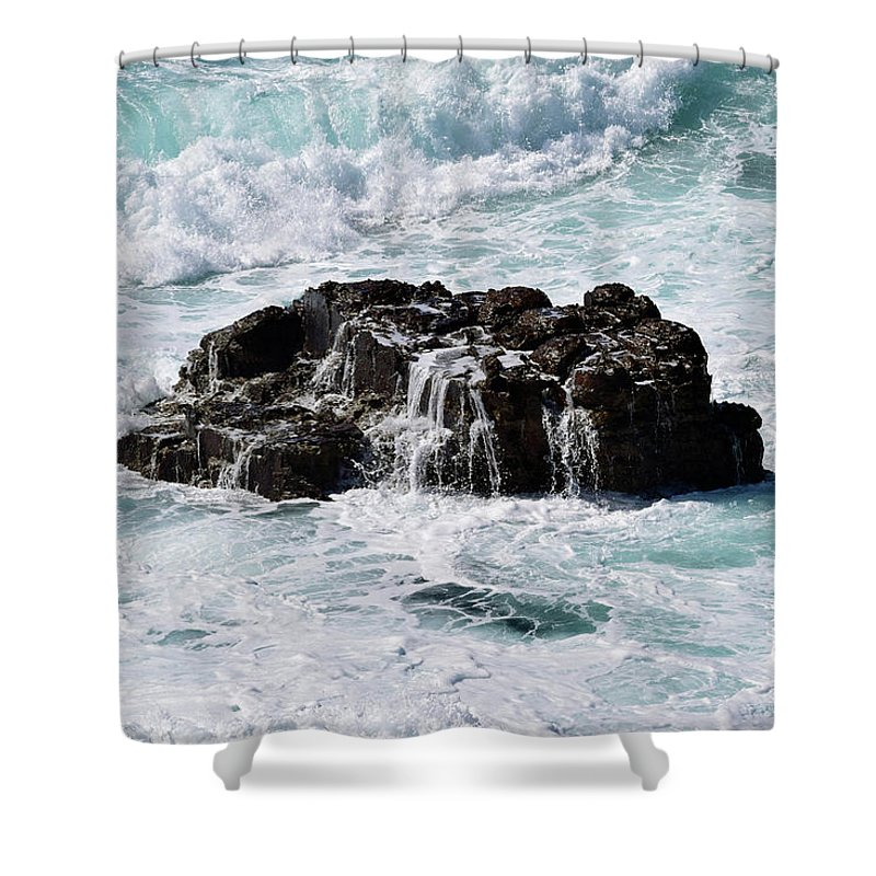 Surf Shower Curtain featuring the photograph Surf No. 134-1 by Sandy Taylor