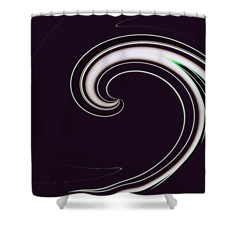 Surfs Up Shower Curtain featuring the photograph Surfs Up 1 by Tim Allen